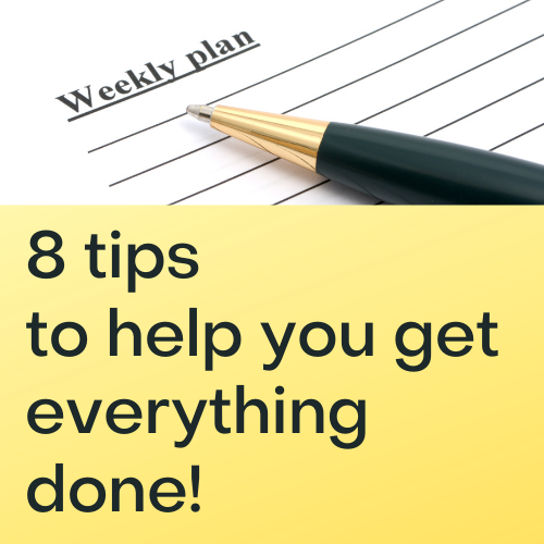 8 tips graphic image