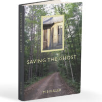Saving the Ghost book cover graphic.