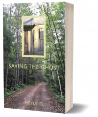 Saving the Ghost paperback book.